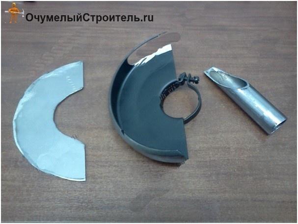 Защита для болгарки своими руками