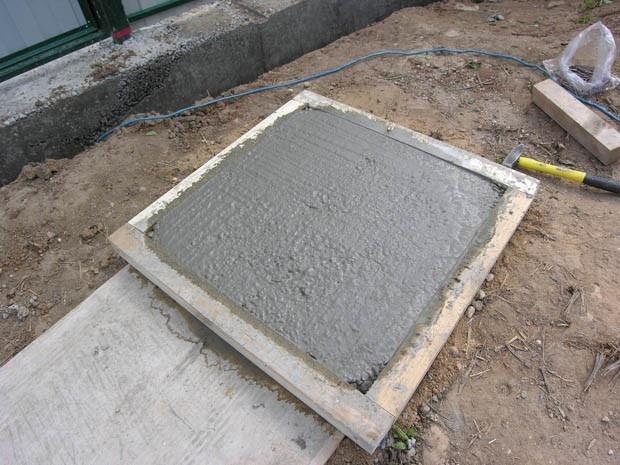 Изготовление тротуарной плитки своими руками фото