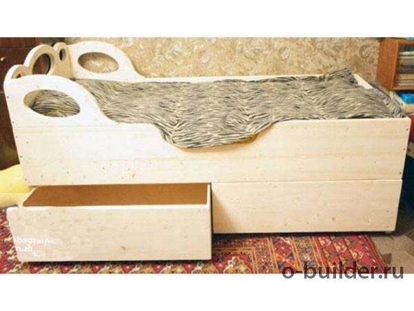 кровать из дерева своими руками 44