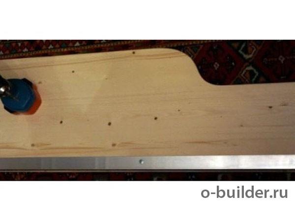 кровать из дерева своими руками 54