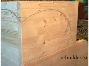 кровать из дерева своими руками 32
