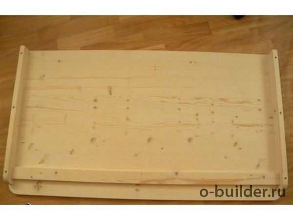 писменный стол из дерева дсп своими руками