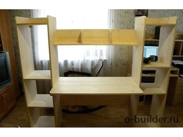 писменный стол из дерева дсп своими руками3 32
