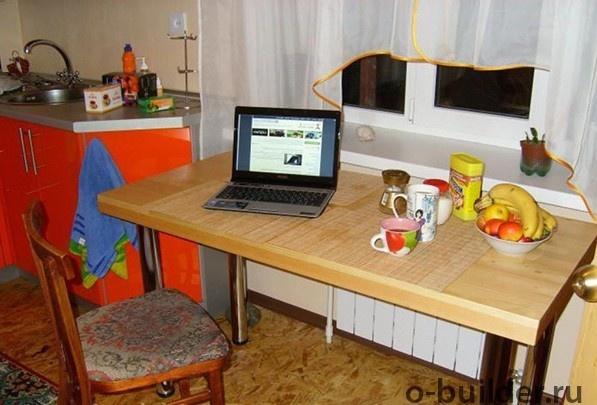 кухонный стол из дерева дсп своими руками 32