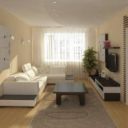 Дизайн гостиной 31
