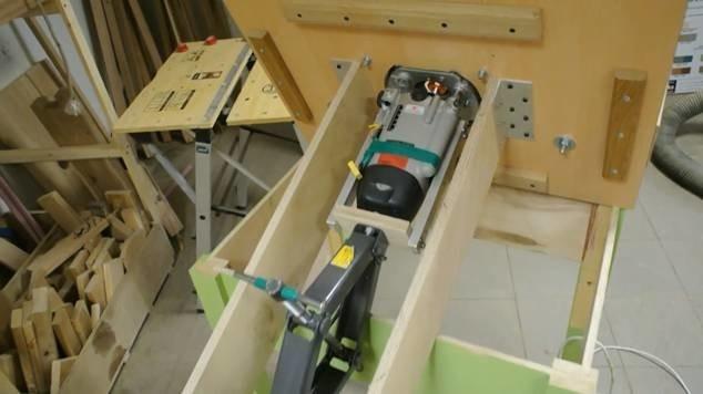 фрезерный стол для фрезера