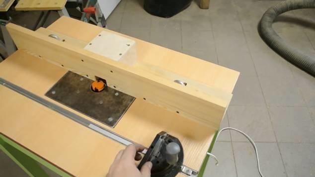 Стол для ручного фрезера своими руками видео