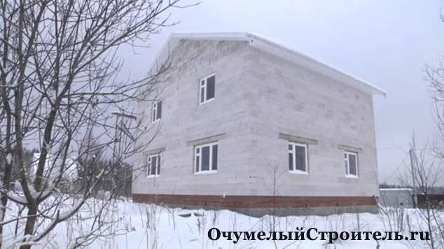 Построить дом своими руками дешево фото