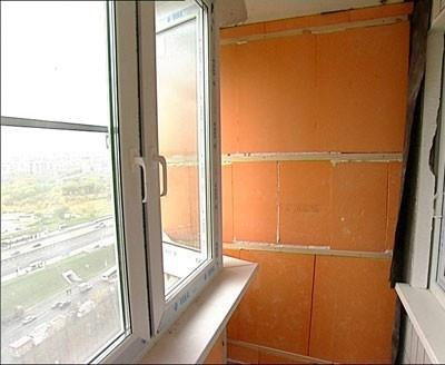 Утепление балкона и лоджии: пеноплексом, пенопластом, пенопо.