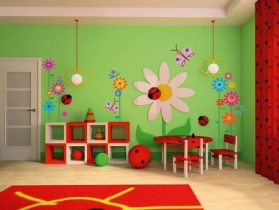 Детские спальни детском саду фото