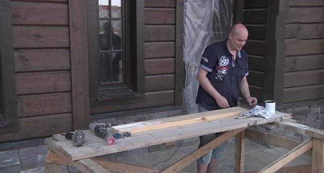 Состарить деревянный пол своими руками 70