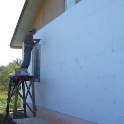 Стоимости утепления фасада с пеноплексом