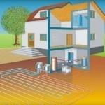 Геотермальное отопление дома тепловым насосом