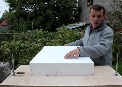 резка пенопласта