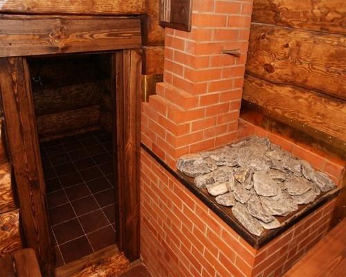 печь кам и дверь 18