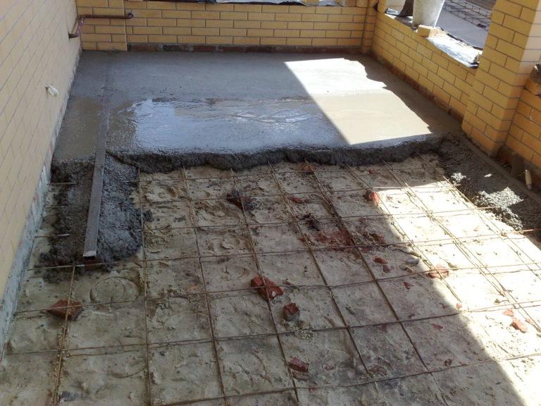 Как залить полы бетоном своими руками
