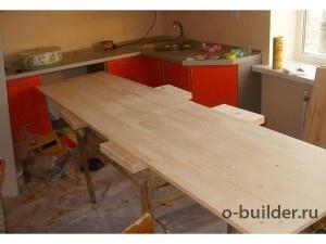 кухонный стол из дерева дсп своими руками