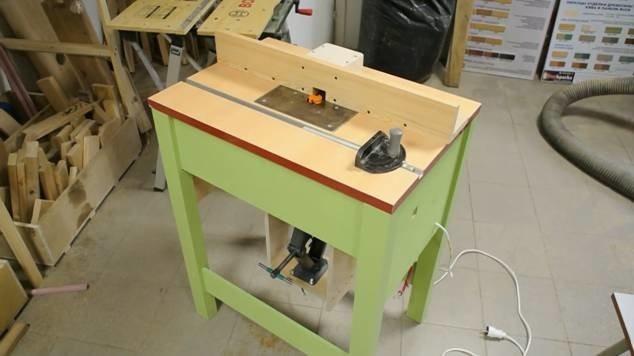 фрезерный стол своими руками для ручного фрезера