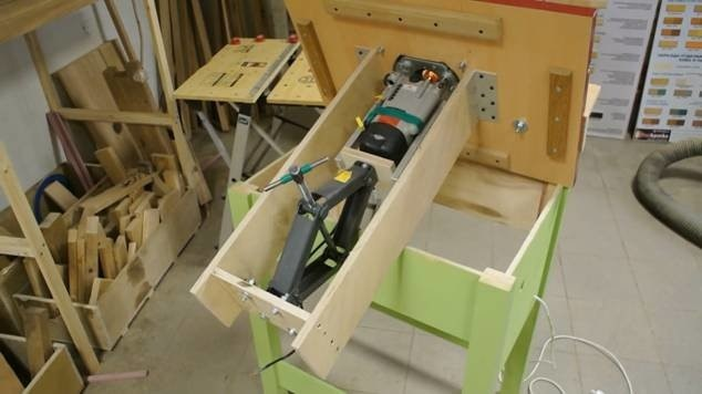 изготовляем фрезерный стол